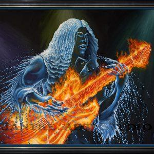 elemental-leadbreak-main-fantasy-art-fire-water-together-guitar-oil-on-canvas-peter-jantke-art-studio