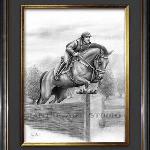 jumping-arab-main-arabian-horse-jumping-equine-competition-pencil-illustraion-peter-jantke-art-studio