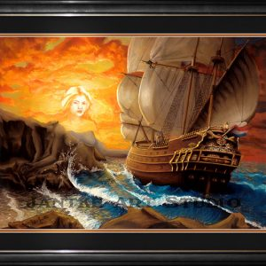 wind-song-main-fantasy-art-galleon-mermaids-song-folklore-legend-sailers-beware-pastel-painting-peter-jantke-art-studio