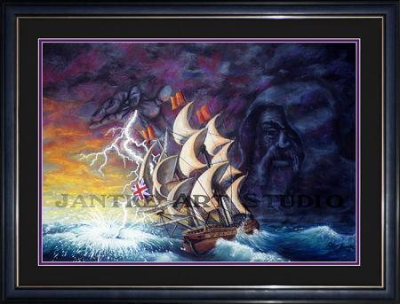 geddon-main-fantasy-art-sea-legend-god-galleon-pastel-painting-peter-jantke-art-studio