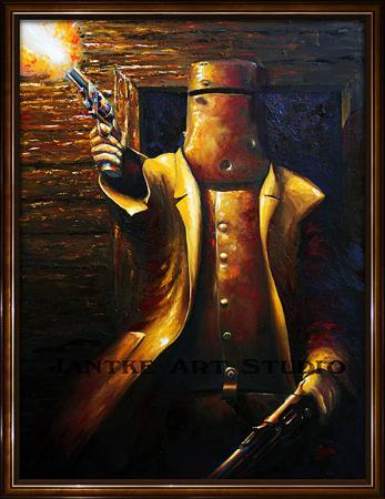 glenrowan-main-ned-kelly-outlaw-australian-bushranger-last-stand-oil-on-canvas-peter-jantke-art-studio