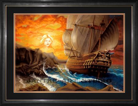 wind-song-main-fantasy-art-galleon-mermaids-song-folklore-legend-sailers-beware-pastel-painting-peter-jantke-art-studio