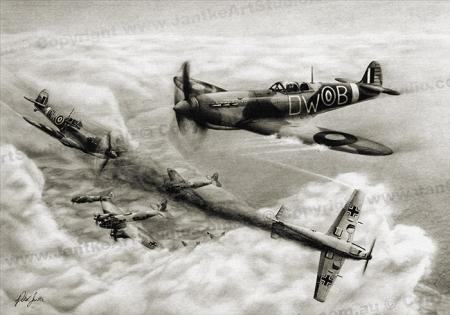 PRC001-main-jas-15-seconds-spitfire-battle-of-britain-jantke-art-studio-print