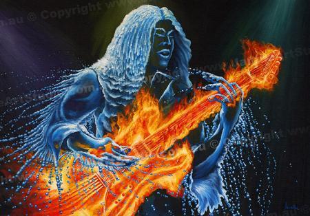 PRC039-main-jas-fantasy-art-elemental-leadbreak-fire-guitar-water-guitarist-jantke-art-print