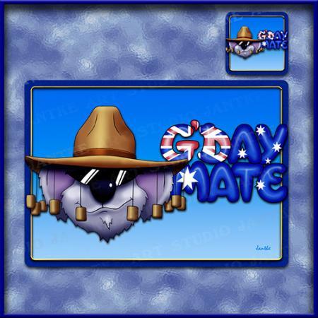 TM011-A3-jas-main-gday-mate-australian-slang-welcome-table-mat-jantke-art-studio