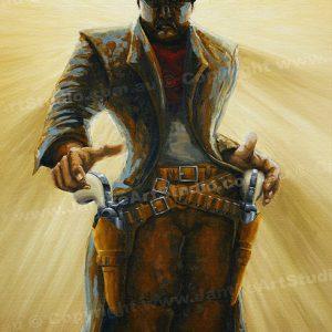 PRC006-main-jas-gunslinger-roland-cowboy-draw-jantke-art-print