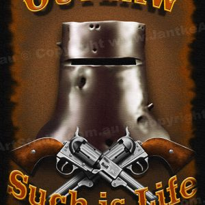 PRC011-main-jas-ned-kelly-outlaw-guns-such-is-life-jantke-art-print