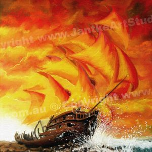 PRC013-main-jas-fantasy-art-ship-wreck-ghost-ship-sunset-jantke-art-print