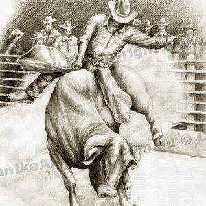 PRC035-main-jas-rodeo-bull-rider-cowboy-jantke-art-print