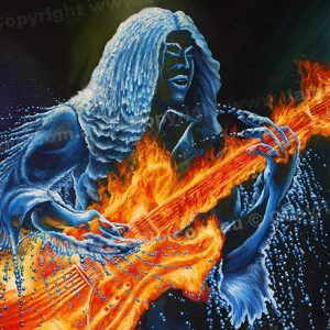 PRC039-main-jas-fantasy-art-elemental-leadbreak-fire-guitar-water-guitarist-jantke-art-print